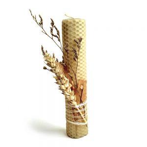 Свечка дэкаратыўная васковая